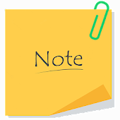 41.  Color Note Pad – noted for lock screen notes
