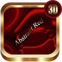 Abstract Red 3D Next Launcher theme icon