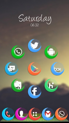 Moon Icon Pack Theme