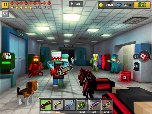 Pixel Gun 3D: FPS Shooter & Battle Royale modavailable screenshots 10