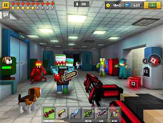Pixel Gun 3D: Shooting games & Battle Royale APK screenshot thumbnail 14