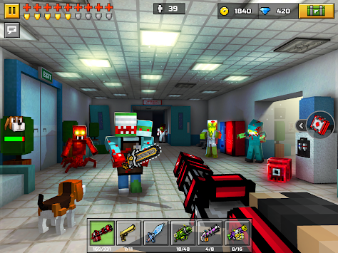 3D Pixel Gun (Pocket Edition) APK screenshot thumbnail 8