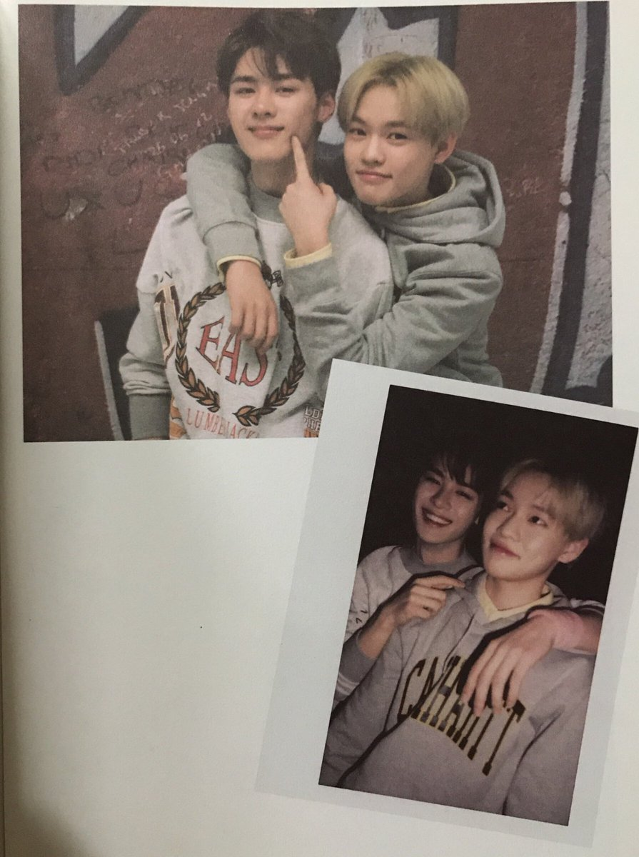 NCT Kun and Chenle