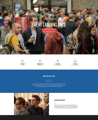Build a No ordinary event Website