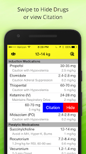 Pedi Safe Medications- screenshot thumbnail