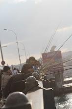 Photo: Masinė žvejyba.   Crowd fishing.