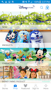 Disney Store screenshot 1