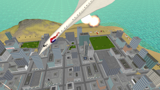Flying Police Motorcycle Rider screenshot 8