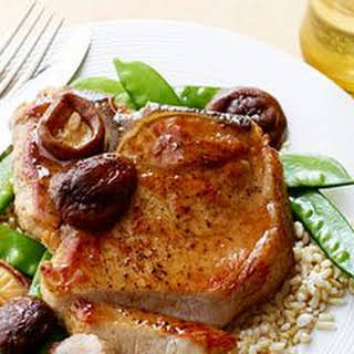 Pork Chops Teriyaki.