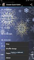 Screenshot of Holy Quran Mishary Alafasy