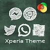 Green Board | Xperia™ Theme + icons