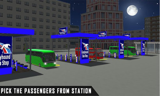 mobile bus driving sim 2018 - tourist coach drive 1.1 screenshots 3
