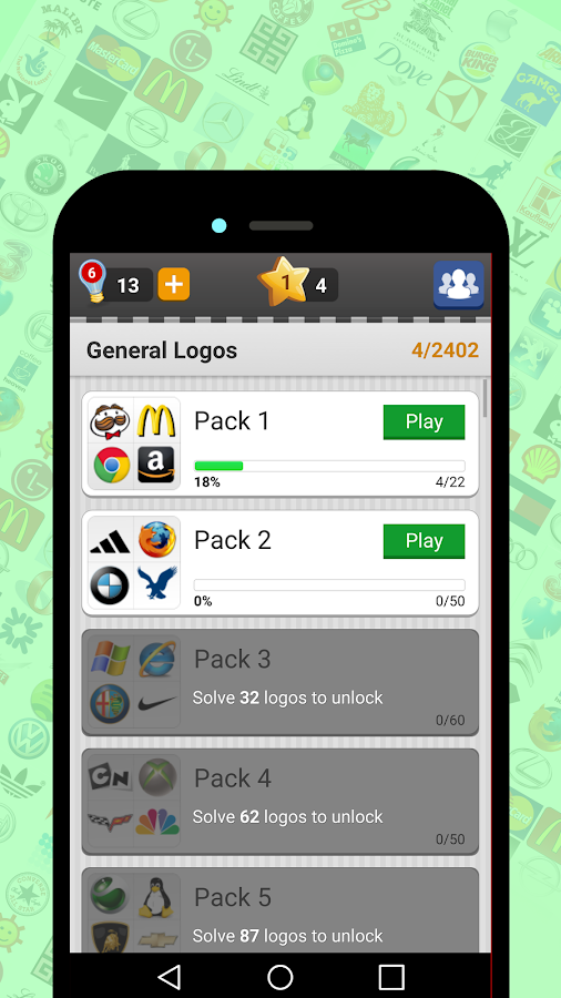 Logo Game  Guess Brand Quiz   Android Apps on Google Play