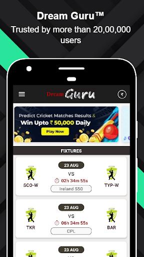 Dream Guruu2122 - Dream11 Prediction & Tips 3.2 screenshots 1