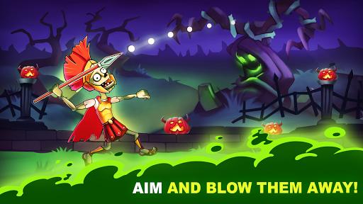 Zombies vs Humans: Bow Masters 1.5 screenshots 1