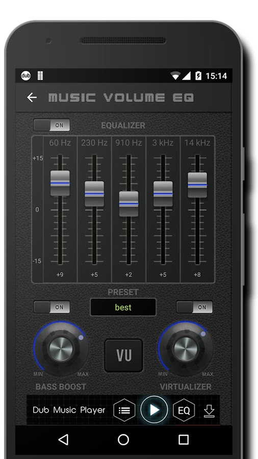 Screenshots of Music Volume EQ for iPhone