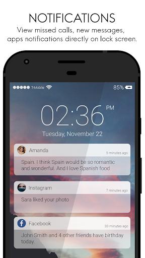 ud83dudd13 Lock Screen IOS10 style 1.35 screenshots 1