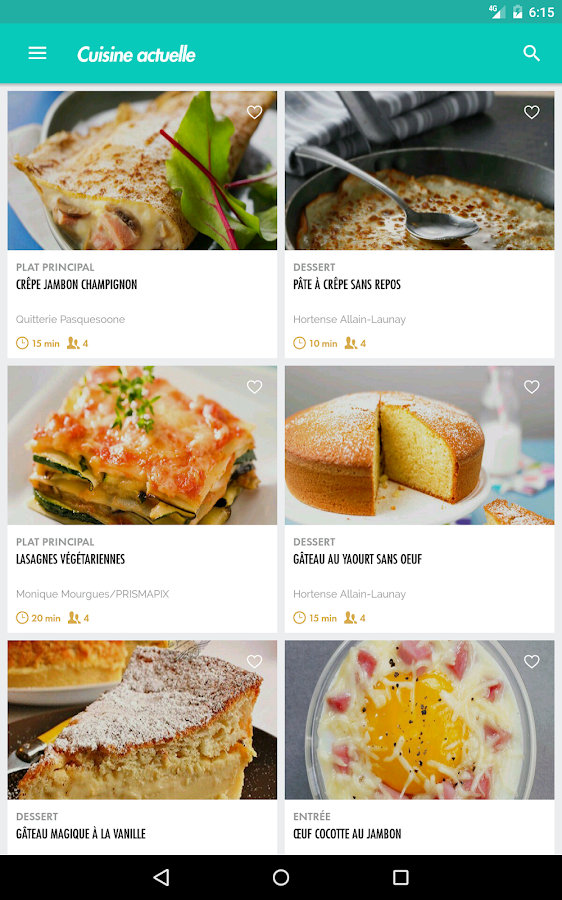 Cuisine actuelle android apps on google play for Cuisine actuelle