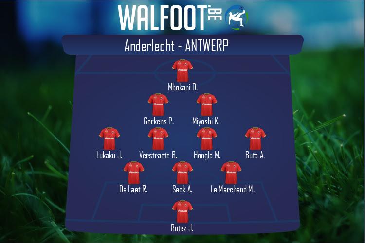 Antwerp (Anderlecht - Antwerp)