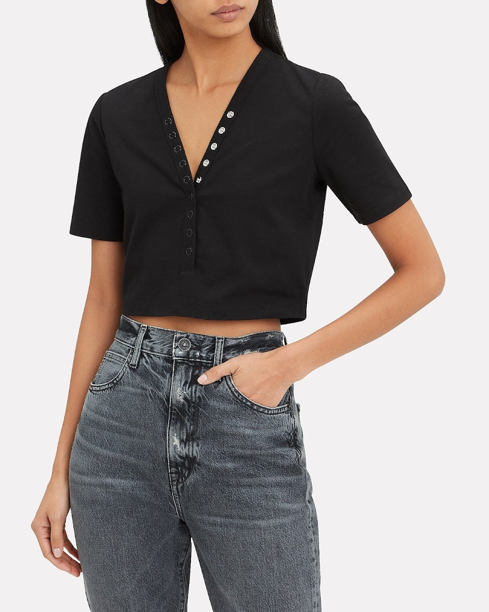alexander wang crop top