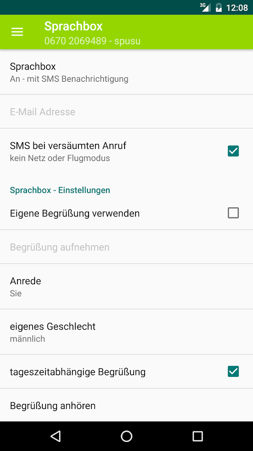 spusu – Screenshot