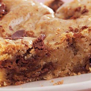 Caramel-Toffee Chunk Brownies