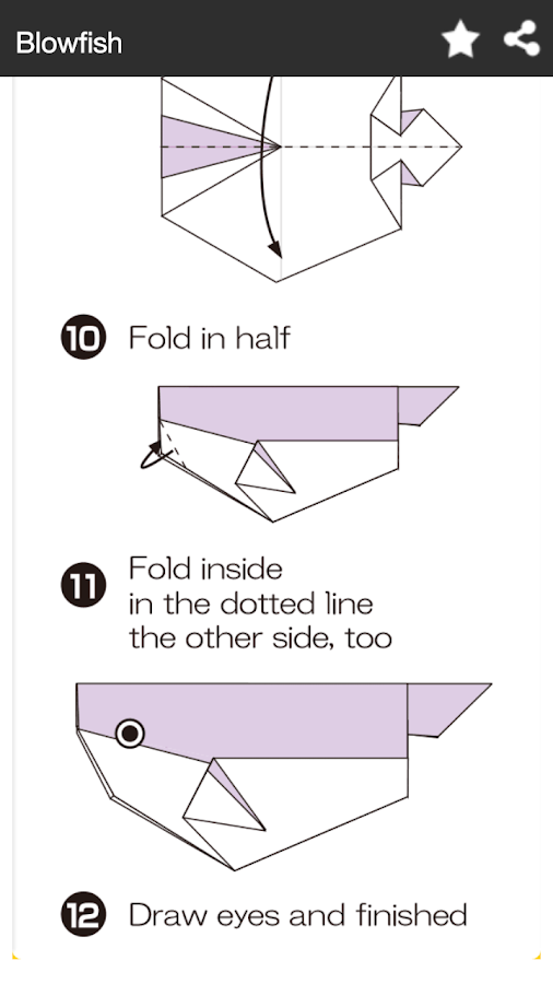 How To Make Origami Fish - Android Apps on Google Play - photo#41