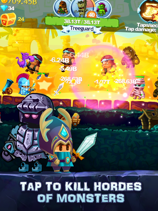 Tap Knight - RPG Clicker Hero Game (Unreleased)- screenshot