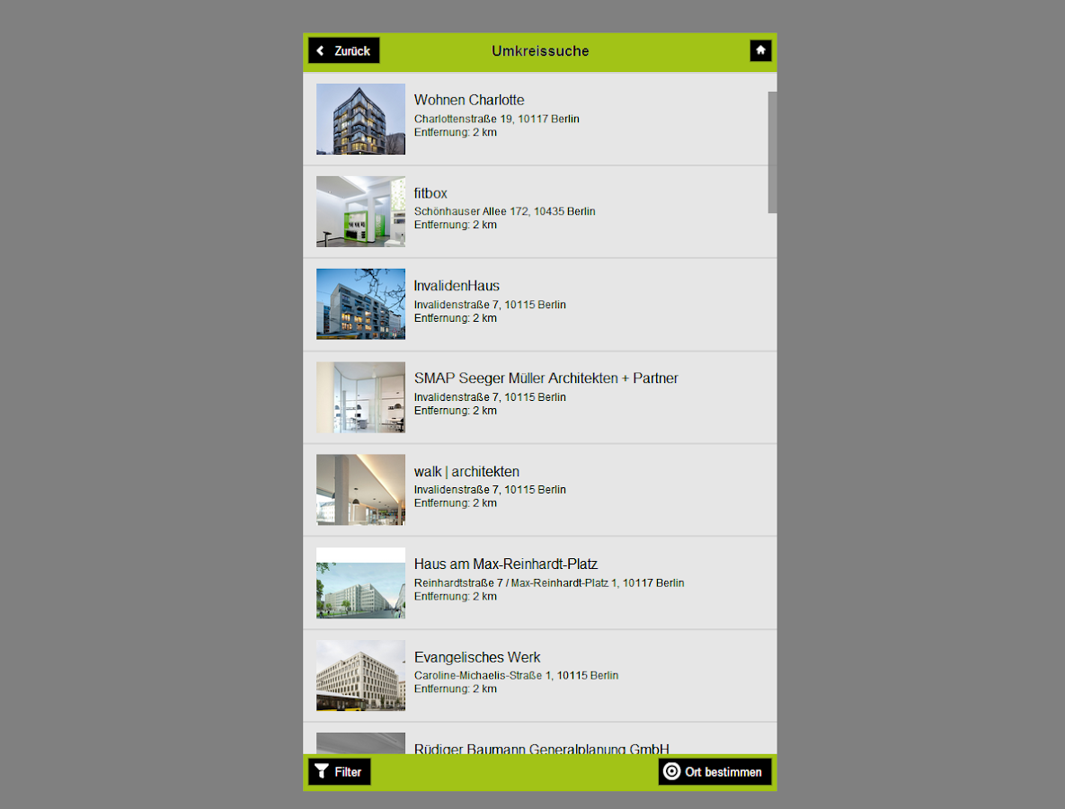 Tag der Architektur- screenshot