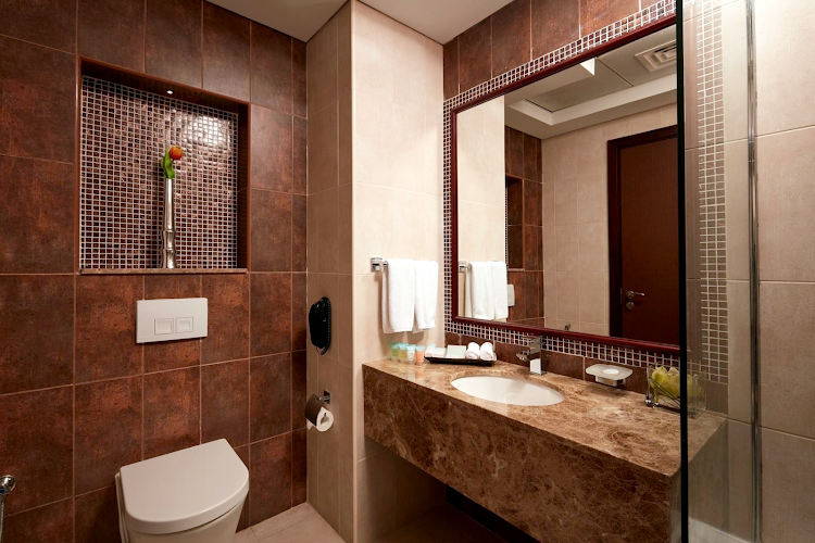 Bathroom at Al Barsha apartment