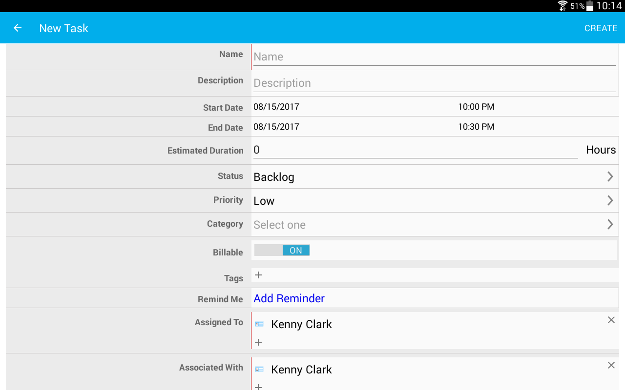 Apptivo CRM- screenshot