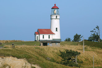Photo: Cape Blanco on Sixes River
