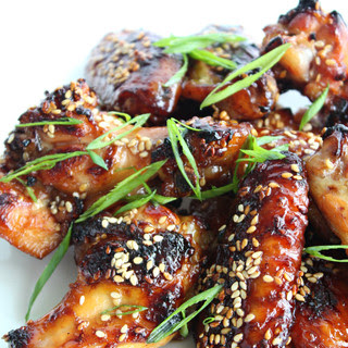 Ginger Soy Chicken Wings