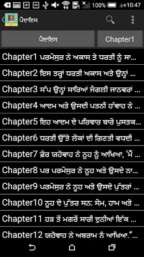 Punjabi English Bible