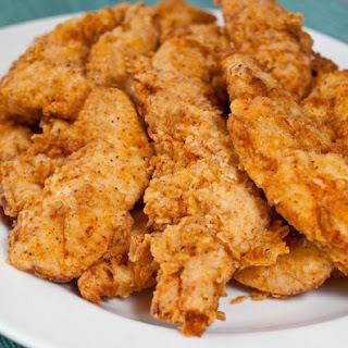 Buttermilk Fried Chicken Tenders.