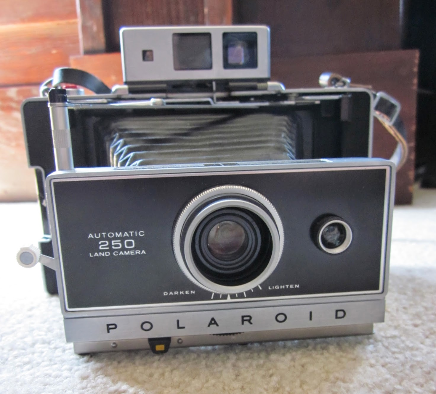 Polaroid Land Model 250 camera