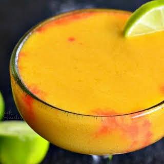 Sunset Margarita (Mango Pineapple Margarita).