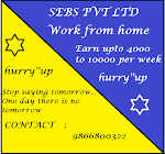 Part time system based typing work at home.