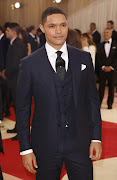 Television host Trevor Noah arrives at the Metropolitan Museum of Art Costume Institute Gala (Met Gala) to celebrate the opening of