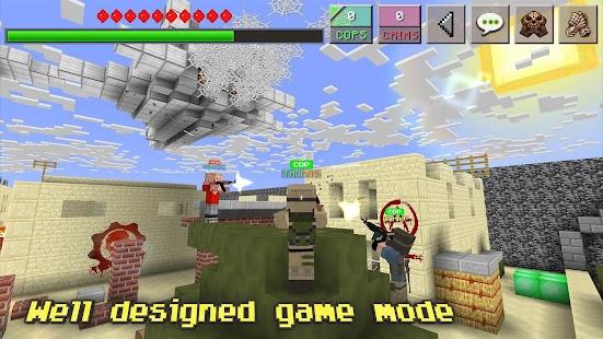 Cops N Crims : Mini Multiplayer FPS Game Screenshot