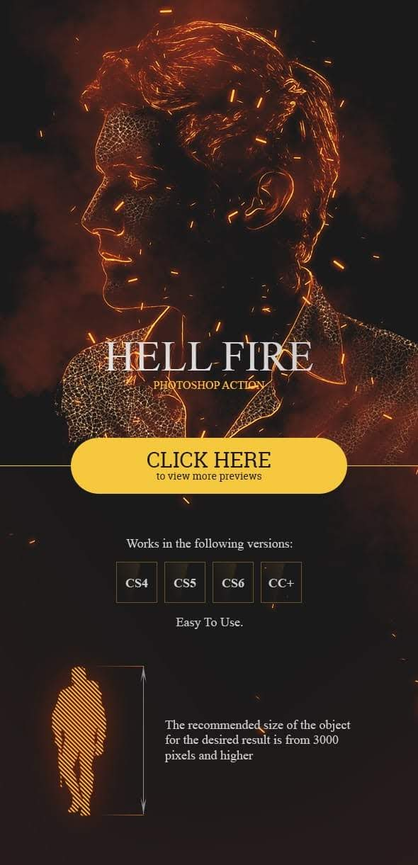 Hell Fire Photoshop Action 19945483 – Sourcepsd com