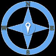 GPS Navigation + Compass  Icon