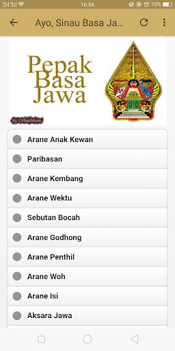 Pepak Basa Jawa 1.1 screenshots 2