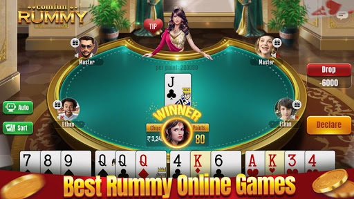 Indian Rummy Comfun-13 Card Rummy Game Online apkpoly screenshots 4