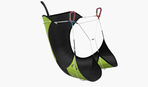New strapless mountain harness fro hike and fly paragliding available at FlySpain