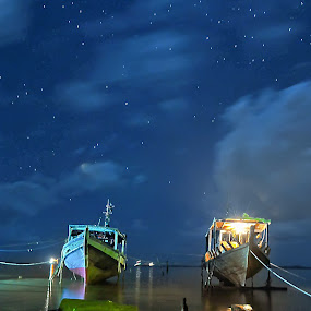 Repair by Fadzlie Baharun - Transportation Boats