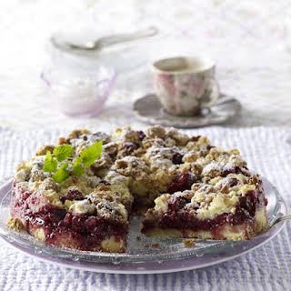 Cherry Streusel Cake.