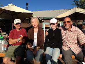 Photo: Dave & Gail Hulse with Emily Crook and Dave Ammenti