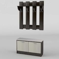 Прихожая №3 мебель разработана и произведена Фабрикой Тиса мебель