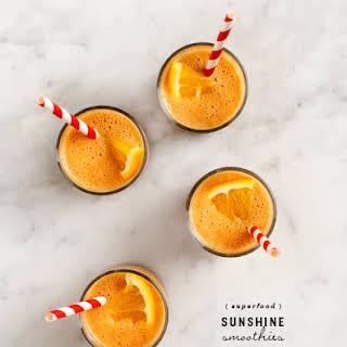 Superfood Sunshine Smoothies.